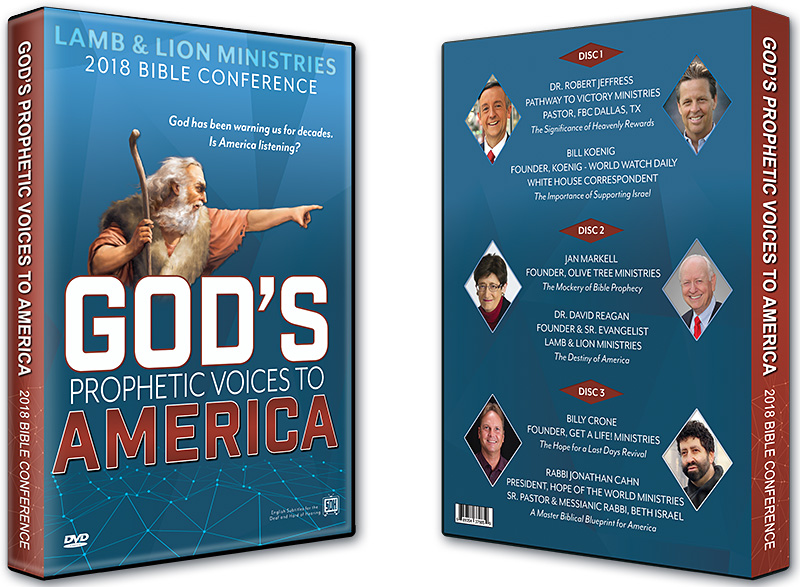 God's Prophetic Voices to America 2018 Bible Conference DVD Album
