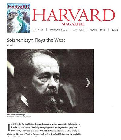 Harvard Magazine