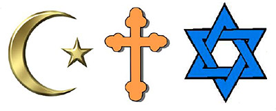 Islam, Christianity and Judaism