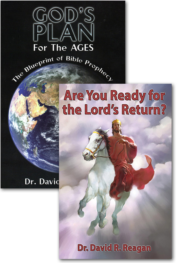 Offer 751 - God's Plan for the Ages Book + Are You Ready for the Lord's Return? Booklet