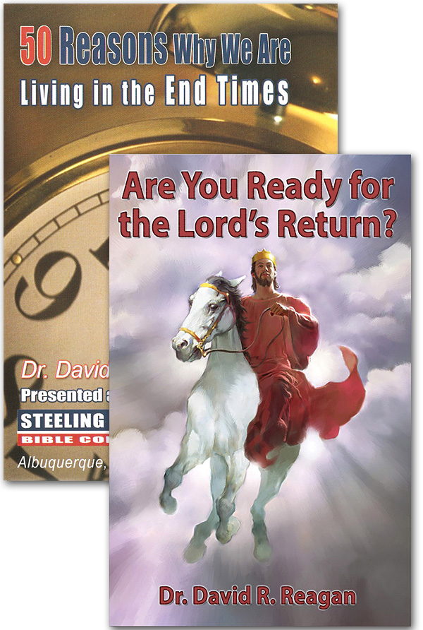 Offer 755 – 50 Reasons Why We Are Living in the End Times DVD + Are You Ready for the Lord's Return? Booklet