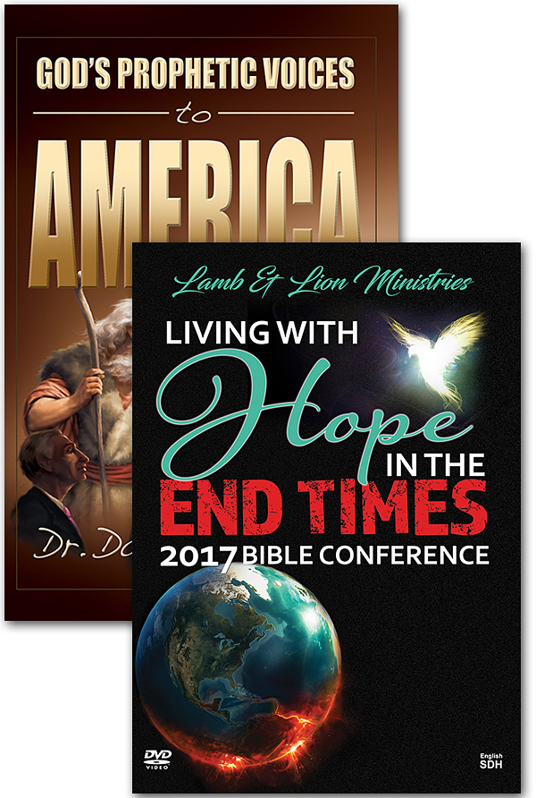 Offer 788 - God's Prophetic Voices to America Book and Living With Hope in the End Times 2017 Conference DVD