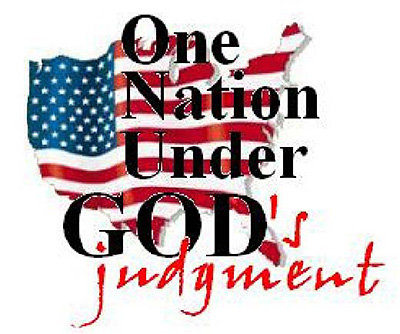 One nation under God's judgment