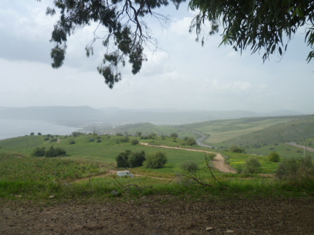 View of the Galilee from the Sermon on the Mount