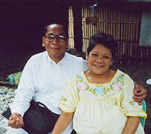 Pastor Remegio Blanco and wife