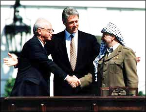 Rabin and Arafat