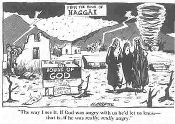 Haggai Cartoon
