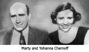 Marty and Yohanna Chernoff