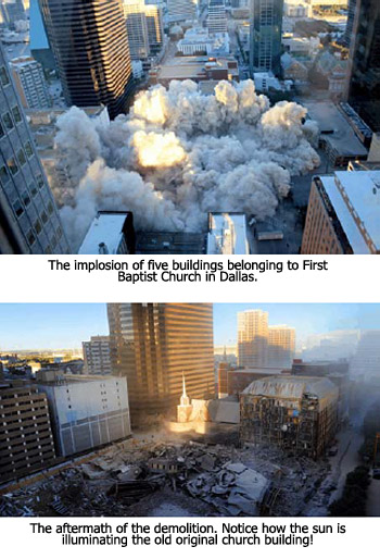 Imploded Buildings