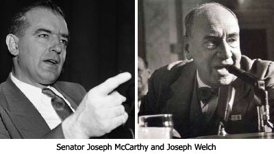 McCarthy and Welch