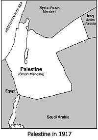 Palestine in 1917