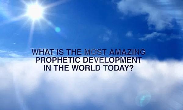 The Most Amazing Prophetic Development