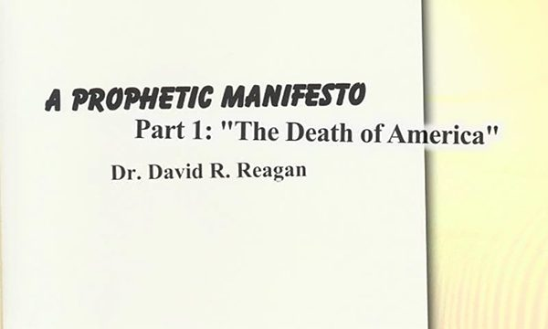 Reagan's Prophetic Manifesto, Part 1