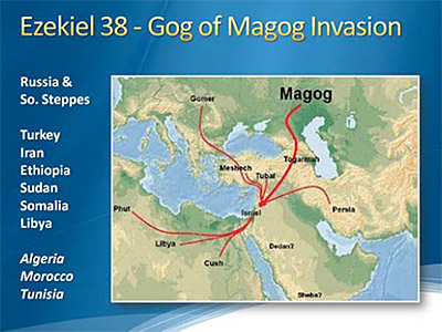 Ezekiel 38 - Gog of Magog Invasion