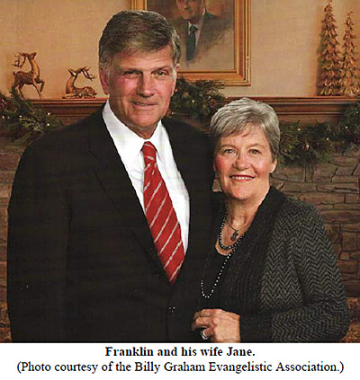 Franklin Graham and His Wife Jane
