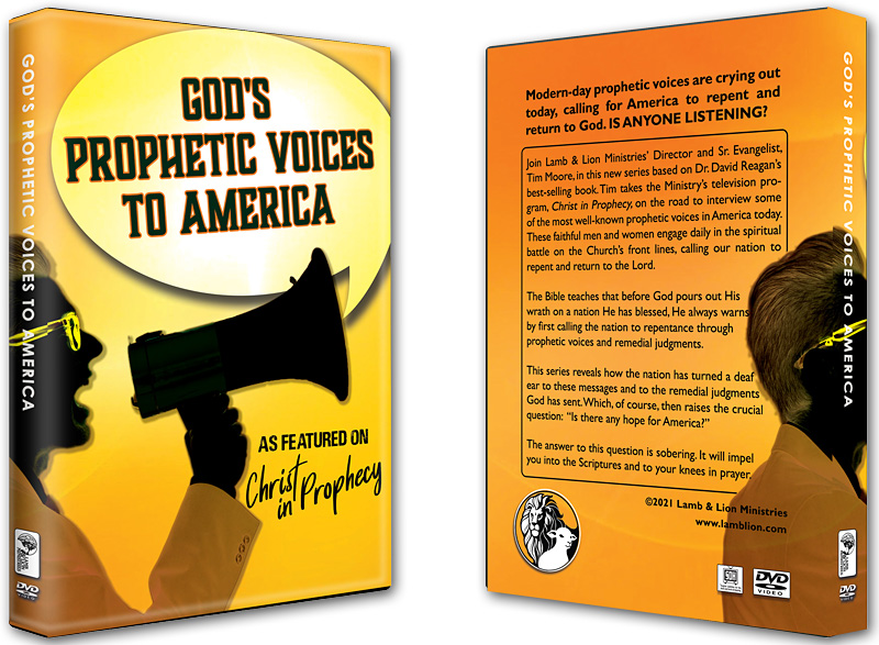 God's Prophetic Voices to America (DVD)