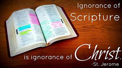 Ignorance of Scripture