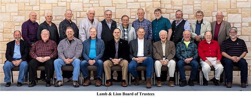 Lamb & Lion Board of Trustees