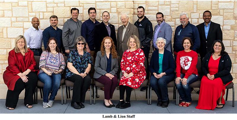 Lamb & Lion Staff