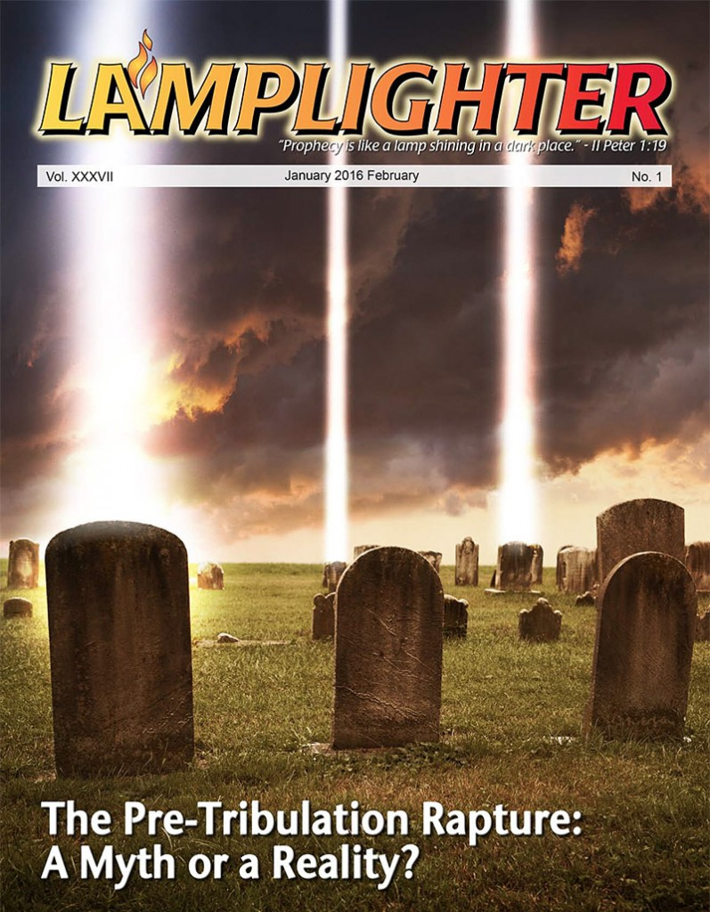 The Pre-Tribulation Rapture Magazine Cover