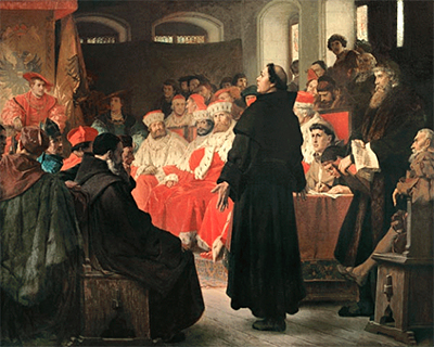 Luther before the Emperor