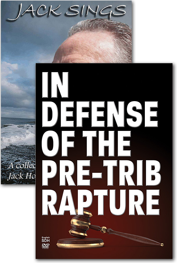 Offer 741 - In Defense of the Pre-Trib Rapture DVD + Jack Sings DVD