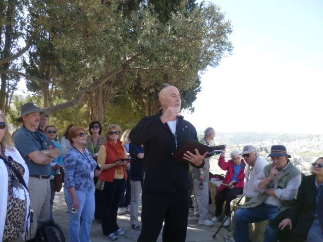 George Collich preaching
