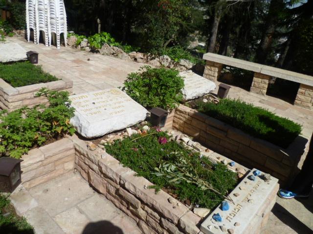 Grave of Jonathan Netanyahu