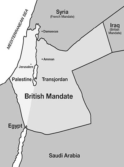 Palestine in 1922