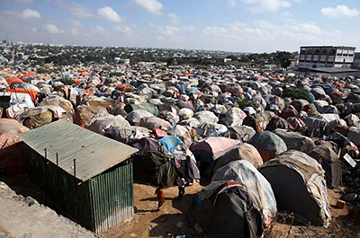 Palestinian refugee camp in Jordan