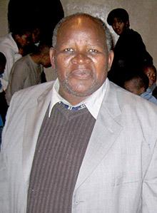 Pastor Abraham Louw