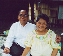 Pastor Remegio Blanco and wife