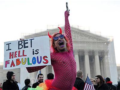 Demonstration in Washington, D.C.