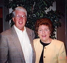 Ray and Sharon Sanders