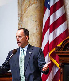 Speaking at the Kentucky State Legislature