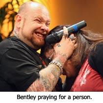 Bentley Praying