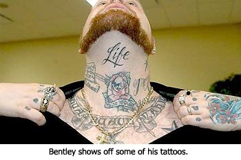 Todd Bentley Tattoos