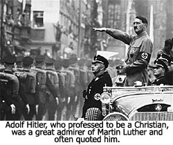 Hitler on Luther