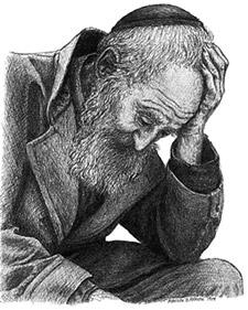 Jew Lamenting