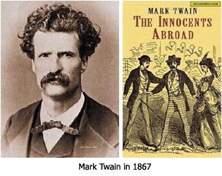 Mark Twain in 1867