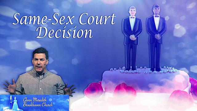 Same-Sex Court Decision